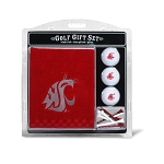 Washington State Cougars Embroidered Golf Gift Set