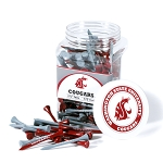 Washington State Cougars Golf 175 Tee Jar