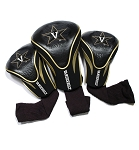Vanderbilt Commodores Golf Contour 3 pack Head Covers