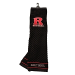 Rutgers Scarlett Knights Embroidered Golf Towel