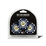 California-Berkeley Golden Bears Golf 3 Pack Poker Chip