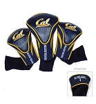California-Berkeley Golden Bears Golf Contour 3 pack Head Covers