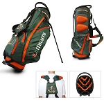 Miami Hurricanes Golf Fairway Stand Bag