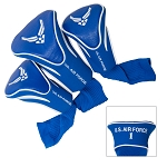 U.S. Air Force Golf Contour 3 pack Head Covers