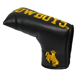 Wyoming Cowboys Vintage Blade Golf Putter Cover