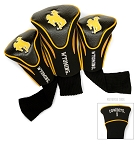 Wyoming Cowboys Golf Contour 3 pack Head Covers