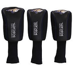 Montana State Fighting Bobcats Mesh Golf Set of 3 Head Covers