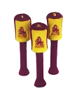 Arizona State Sun Devils Set of 3 Graphite Head Covers