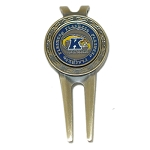 Kent State Golden Flashes Divot Repair Tool