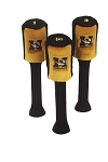 Missouri Tigers Set of 3 Graphite Head Covers