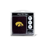 Iowa Hawkeyes Embroidered Golf Gift Set