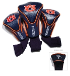 Auburn Tigers Golf Contour 3 pack Head Covers