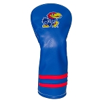 Kansas Jayhawks Vintage Golf Fairway Head Cover
