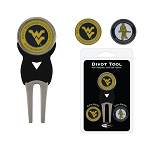 West Virginia Mountaineers Golf Divot Tool Set