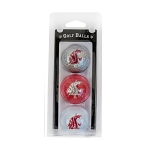 Washington State Cougars Golf Ball Clamshell