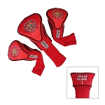 LOUISIANA - LAFAYETTE Golf Contour 3 pack Head Covers