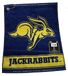 South Dakota State Jackrabbits Logo Jacquard Golf Towel