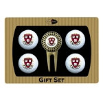 Harvard Crimson 4 Ball Divot Tool Golf Gift Set
