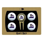 James Madison Dukes 4 Ball Divot Tool Golf Gift Set