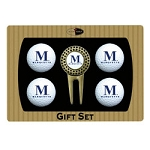 Marquette Golden Eagles 4 Ball Divot Tool Golf Gift Set