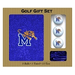 Memphis Tigers Embroidered Golf Gift Set