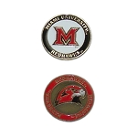 Miami (Ohio) Redhawks Golf Ball Marker