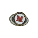 Miami (Ohio) Redhawks 2 Marker Golf Hat Clip
