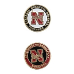 Nebraska Cornhuskers Golf Ball Marker