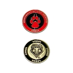New Mexico Lobos Golf Ball Marker