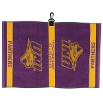 Northern Iowa Panthers Logo Jacquard Golf Towel