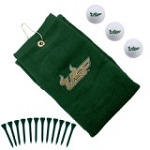 South Florida Bulls Embroidered Golf Gift Set