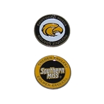 Southern Miss Golden Eagles Golf Ball Marker