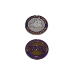 Texas Christian University Horned Frogs Golf Ball Marker