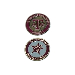 Texas A&M Aggies Golf Ball Marker