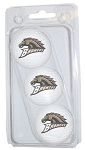 Western Michigan Broncos Golf Ball Clamshell