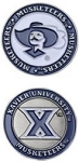Xavier Musketeers Golf Ball Marker