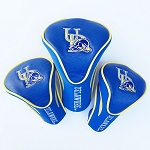 Delaware Blue Hen Golf Contour 3 pack Head Covers