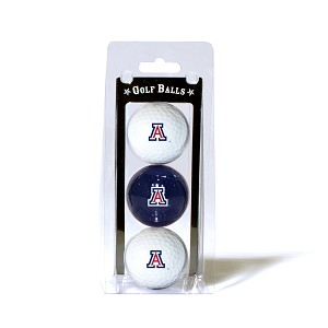 Arizona Wildcats Golf Ball Clamshell