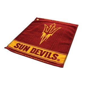 Arizona State Sun Devils Woven Golf Towel