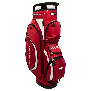 Arkansas Razorbacks Golf Clubhouse Cart Bag