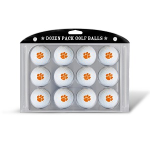 Clemson Tigers Dozen Pack Golf Balls