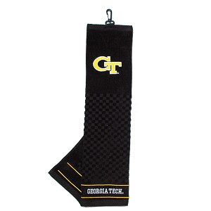 Georgia Tech Yellow Jackets Embroidered Golf Towel