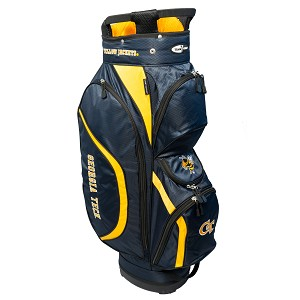 Georgia Tech Yellow Jackets Golf Clubhouse Cart Bag