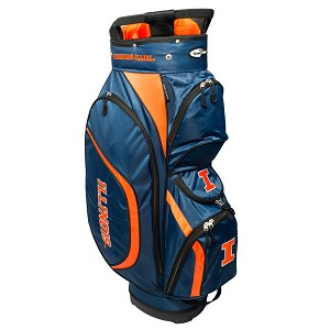 Illinois Fighting Illini Golf Clubhouse Cart Bag