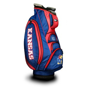 Kansas Jayhawks Victory Golf Cart Bag