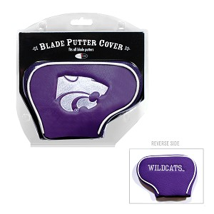 Kansas State Wildcats Blade Golf Putter Cover