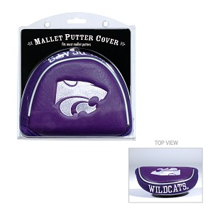 Kansas State Wildcats Mallet Golf Putter Cover