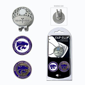 Kansas State Wildcats 2 Marker Golf Hat Clip