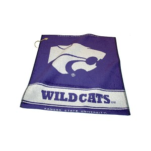 Kansas State Wildcats Woven Golf Towel