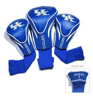Kentucky Wildcats Golf Contour 3 pack Head Covers